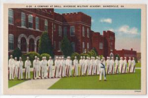 Company Drill, Riverside Military Academy. Gainesville GA