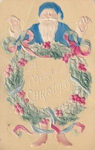 A Merry CHRISTMAS, Santa Claus, Holly Reef, PU-1910