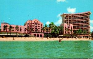 Hawaii Waikiki Beach Royal Hawaiian Hotel