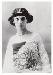 Anna Pavlova In Paris France 1909 Russian Ballet Photo Postcard