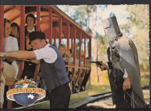 Australia Postcard - Ned Kelly, Dreamworld, Coomera, Queensland  LC4680