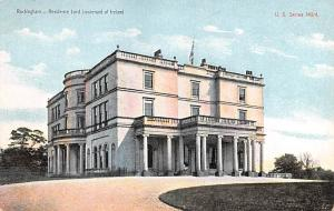Rockingham Ireland Residence Lord Lieutenant of Oreland Rockingham Residence ...