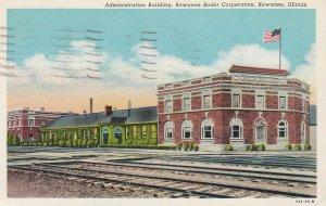 KEWANEE , Illinois , 1930-40s ; Admin Bldg , Kewanee Boiler Corporation