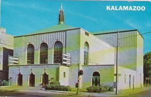 Michigan Kalamazoo The Civic Auditorium 1966