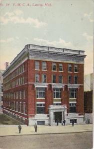Michigan Lansing Y M C A Building 1911