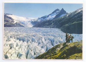 Alaska Mendenhall Glacier Cravases Oversize IMP Postcard