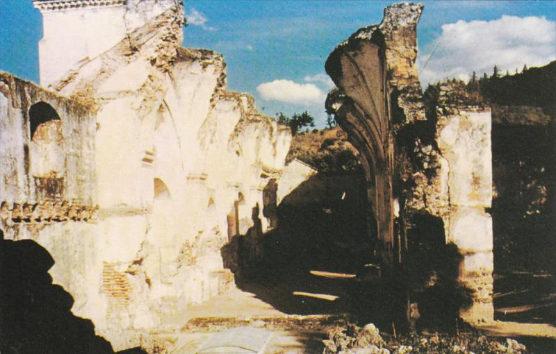 GUATEMALA , 50-60s ; Ruins of La Concepcion Church - Antigua