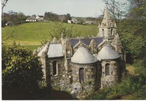 Post Card Channel Islands GUERNSEY Les Vauxbelets The Little Chapel