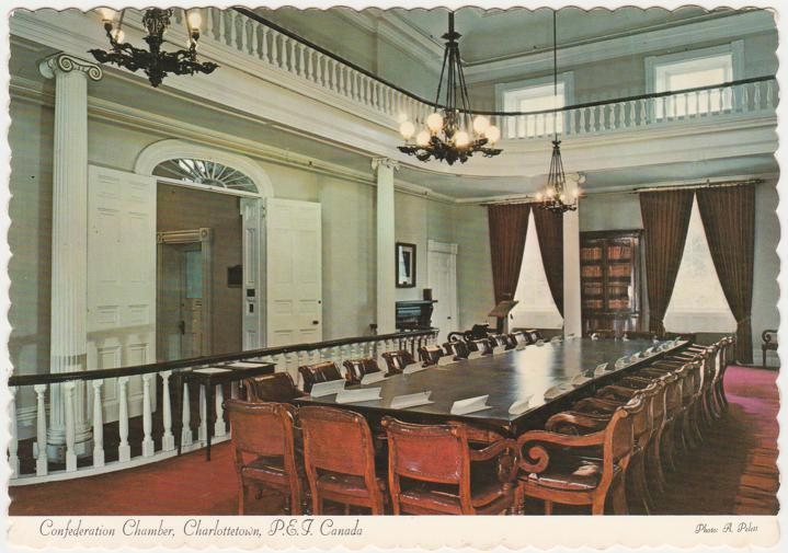 Confederation Chamber - Charlottetown PEI, Prince Edward Island, Canada