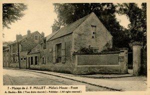 France - Barbizon. J.F. Millet's House