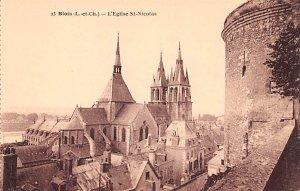 L'Eglise St Nicolas Blois France Unused