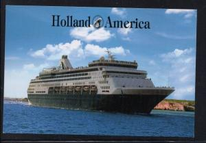 MS Maasdam Holland America Lines colour  unused