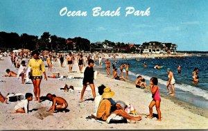 Connecticut New London Ocean Beach Park Beach Scene