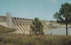 Clark Hill Dam, Savannah River, Augusta, Georgia,40-60s