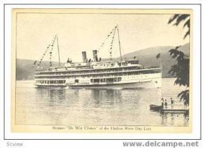Hudson River Day Line,Steamer  De Witt Clinton ,00-10s New York