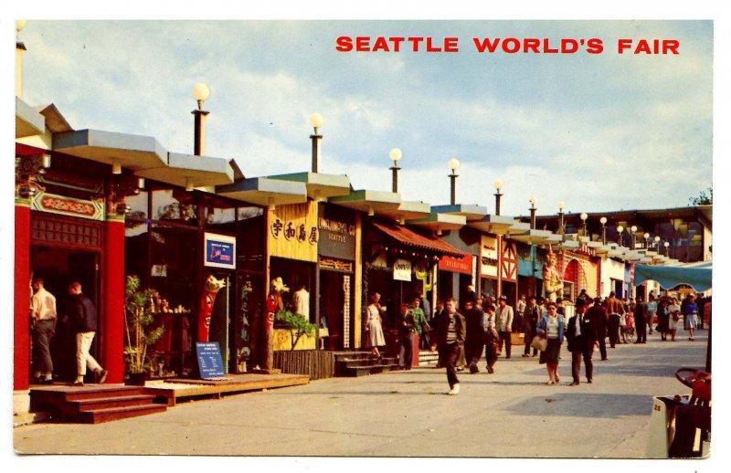 WA - Seattle. 1962 World's Fair, Boulevards of the World