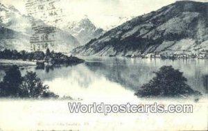 Wurthle & Sohn Salzzburg Zell am See Austria Writing On Front, Postal Used Un...