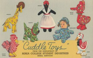 BREA , Kentucky , 1930-40s ; Cuddle Toys , Mammy Doll & others