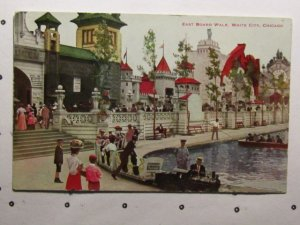 circa 1911-East Boardwalk,White City,Chicago Illinois