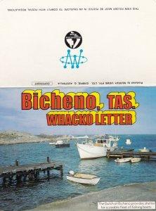Bicheno, Tas. , Australia , 50-70s ; Whacko Letter Postcard