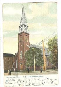 TUCK 5523, St. Jerome's Catholic Church, HOLYOKE, Massachusetts, PU-1911