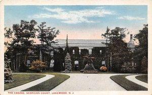 The Casino, Georgian Court Lakewood, New Jersey Postcard