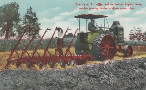 Type f and six bottom Gang , Tractor , 00-10s