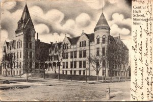 Minnesota Minneapolis Central High School 1907