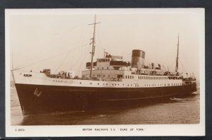 Shipping Postcard - British Railways S.S.Duke of York  HP523