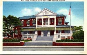 Virginia Roanoke Elks Lodge No 197