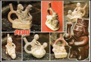 Peru Post card - Huacos eroticos, unused