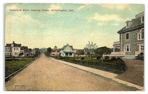 Rockford Park looking West, Wilmington, DE Postcard *7B10