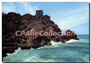 Modern Postcard Corsica Ile De Beaute La Tour Genoise Porto