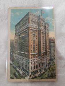 Antique Postcard, Hotel McAlpin, New York