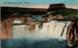 Shoshone Falls, Idaho - VINTAGE - PC - COLOR - Postcard