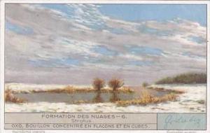 Liebig Trade Card S1281 Cloud Formations No 6 Stratus
