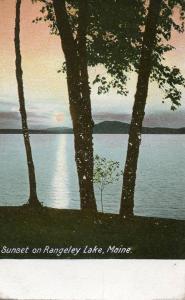 ME - Rangeley Lake. Sunset