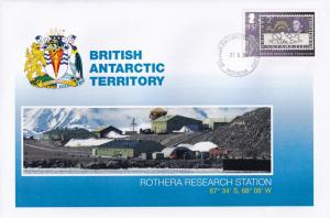 Rothera Research Station British Antarctic Territory Stamp FDC