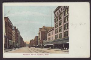 Riverside Avenue,Spokane,WA Postcard