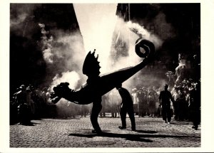 Festival Of The Dragon Barcelona 1955 Photograph By Brassi