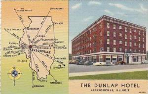 Illinois Jacksonville The Dunlap Hotel