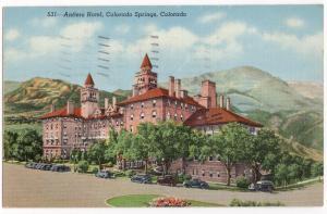 Antlers Hotel, CO Springs