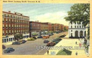 Main St. Concord NH 1949