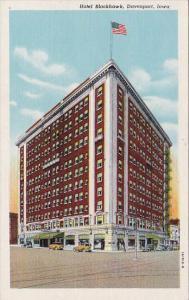 Iowa Davenport Hotel Blackhawk