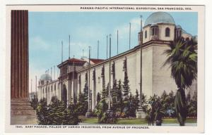 P355 JL, 1915 postcard panama-pacific expo palace industries san francisco calif