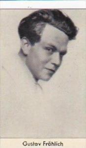 Confreia Cigarette Card Film &  Stage Stars No 45 Gustav Frohlich