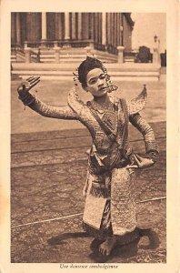 Une Danseuse Cambodgienne Cambodia, Cambodge Unused