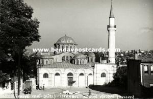 turkey, ISTANBUL, Kariye Mosque, Museum, Islam (1950s) RPPC