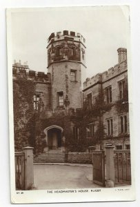TUCK: RP; RUGBY, England, PU-1954; The Headmaster's House