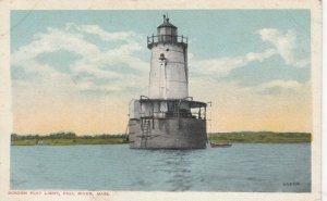 FALL RIVER , Massachusetts , 1900-10s ; Borden Flat Lighthouse